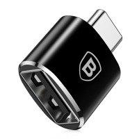Baseus Converter USB to USB Type-C Adapter Connector OTG black (CATOTG-01)