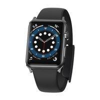 Baseus Slip-Thru Watch Band For AP Watch Series 3/4/5/6/SE 42mm/44mm Black (LBWSE-A01)