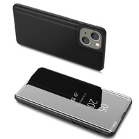 Clear View Case cover for iPhone 13 mini black