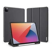 DUX DUCIS Domo Tablet Cover with Multi-angle Stand and Smart Sleep Function for iPad Pro 12.9'' 2021 black