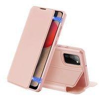 DUX DUCIS Skin X Bookcase type case for Samsung Galaxy A02s EU pink