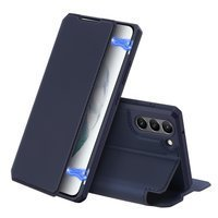 DUX DUCIS Skin X Bookcase type case for Samsung Galaxy S21 FE blue