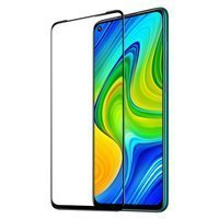 Dux Ducis 9D Tempered Glass Tough Screen Protector Full Coveraged with Frame for Xiaomi Redmi 10X 4G / Xiaomi Redmi Note 9 black (case friendly)