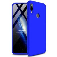 GKK 360 Protection Case Front and Back Case Full Body Cover Huawei Y6 2019 / Huawei Y6s 2019 blue