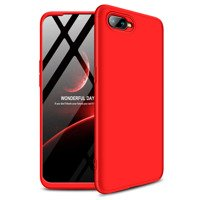 GKK 360 Protection Case Front and Back Case Full Body Cover Oppo RX17 Neo red