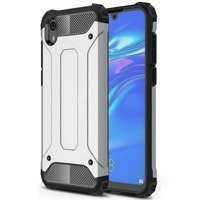 Hybrid Armor Case Tough Rugged Cover for Huawei Y5 2019 / Honor 8S silver