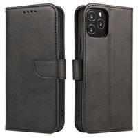 Magnet Case elegant bookcase type case with kickstand for Realme X50 Pro 5G black