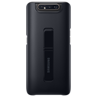 Samsung Standing Cover kickstand Hard Case for Samsung Galaxy A80 black (EF-PA805CBEGWW)