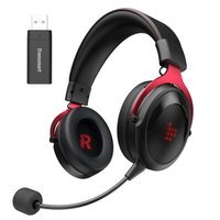 Tronsmart Shadow gaming wireless headphones with a microphone for players red (372309)
