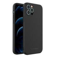 Wozinsky Color Case silicone flexible durable case iPhone 12 Pro black