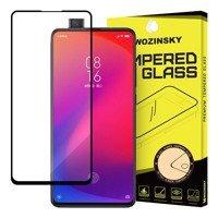 Wozinsky Tempered Glass Full Glue Super Tough Screen Protector Full Coveraged with Frame Case Friendly for Xiaomi Mi 9T Pro / Mi 9T black