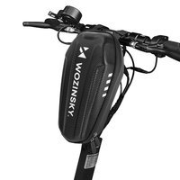 Wozinsky waterproof electric scooter handlebar bag 2L black (WSB3BK)