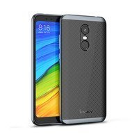 iPaky Bumblebee Neo Hybrid case cover with PC Frame for Xiaomi Redmi 5 Plus / Redmi Note 5 (single camera) grey