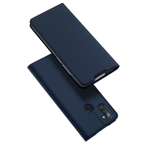 DUX DUCIS Skin Pro Bookcase type case for Samsung Galaxy A11 / M11 blue
