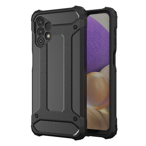 Hybrid Armor Case Tough Rugged Cover for Samsung Galaxy A32 5G black