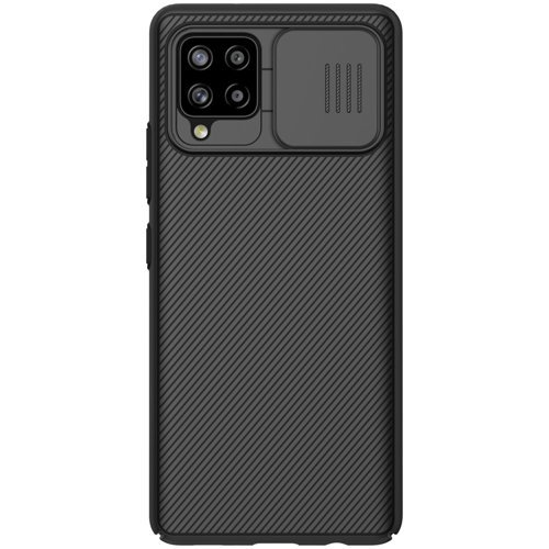 Nillkin CamShield Pro Case Durable Cover with camera protection shield for Samsung Galaxy A42 5G black