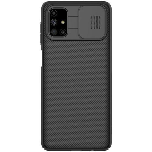 Nillkin CamShield Pro Case Durable Cover with camera protection shield for Samsung Galaxy M51 black