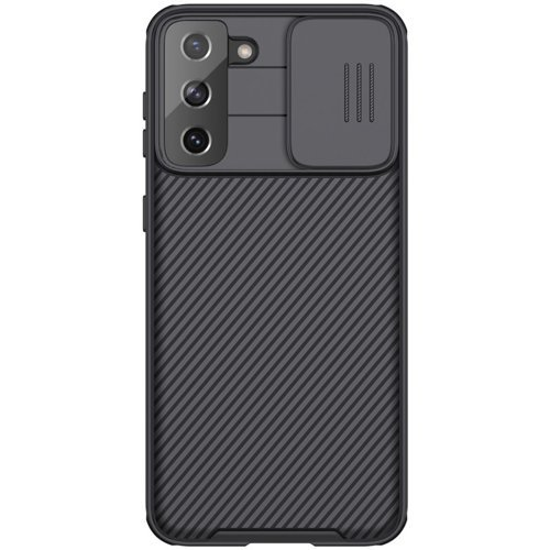 Nillkin CamShield Pro Case Durable Cover with camera protection shield for Samsung Galaxy S21+ 5G (S21 Plus 5G) black