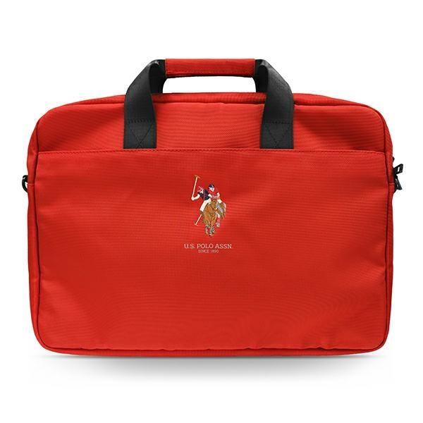 """US Polo Bag USCB15PUGFLRE 15 """"red / red"""