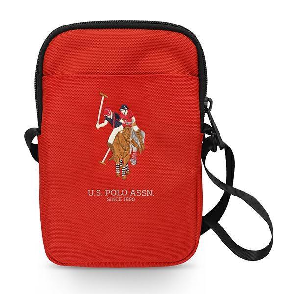 US Polo Handbag USPBPUGFLRE red / red
