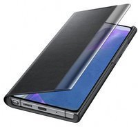 [PO ZWROCIE] Samsung Clear View Standing Cover futerał etui z inteligentną klapką Samsung Galaxy Note 20 czarny (EF-ZN980CBEGEU)