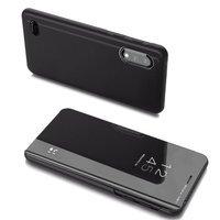 Clear View Case futerał etui z klapką LG K22 czarny
