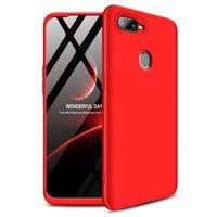 GKK 360 Protection Case etui na całą obudowę przód + tył Oppo AX7 czerwony