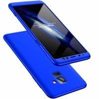 GKK 360 Protection Case etui na całą obudowę przód + tył Samsung Galaxy A8 2018 A530 niebieski