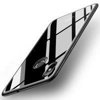 MSVII Tempered Glass Case etui pokrowiec nakładka ze szkła hartowanego Xiaomi Mi 8 SE czarny