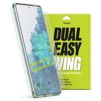 Ringke Dual Easy Wing 2x łatwa w przyklejeniu folia na ekran i boki Samsung Galaxy M31s (DWSG0013)