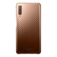 Samsung Gradation Cover etui sztywny pokrowiec z gradientem Samsung Galaxy A7 2018 A750 złoty (EF-AA750CFEGWW)