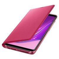 Samsung Wallet Cover etui kabura bookcase z kieszonką na kartę Samsung Galaxy A9 2018 różowy (EF-WA920PPEGWW)