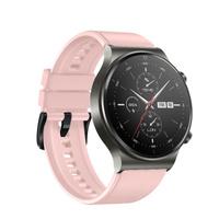 Silikonowy pasek do smartwatcha Huawei Watch GT / GT2 / GT2 Pro różowy