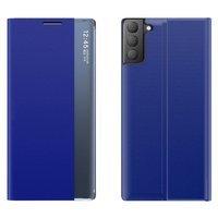 Sleep Case pokrowiec etui z klapką typu Smart Cover Samsung Galaxy S21 FE niebieski