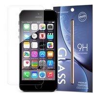 Tempered Glass szkło hartowane 9H iPhone SE / iPhone 5S / iPhone 5 (opakowanie – koperta)