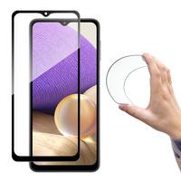 Wozinsky Full Cover Flexi Nano folia szklana szkło hartowane z ramką Samsung Galaxy A32 5G przezroczysty