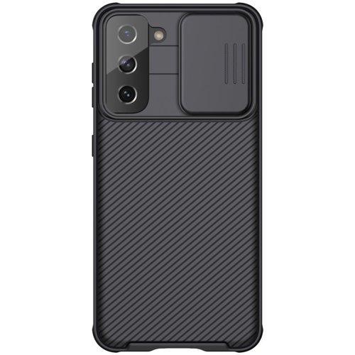 Nillkin CamShield Pro Case pancerne etui pokrowiec osłona na aparat kamerę Samsung Galaxy S21 5G czarny