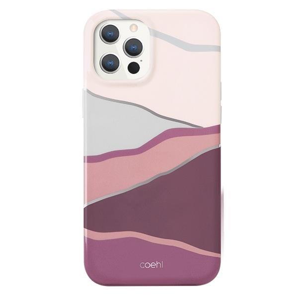 UNIQ Coehl Ciel etui na iPhone 12 Pro Max różowy