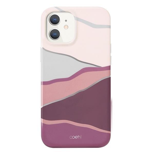 UNIQ Coehl Ciel etui na iPhone 12 mini różowy
